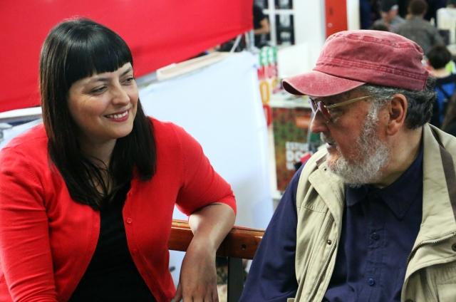 Conversando en la Feria con Paula Ilabaca